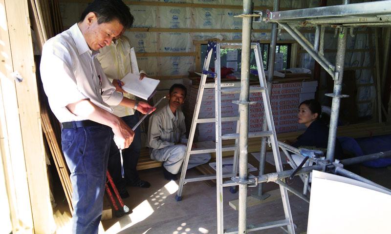 Visita de obra casa H
