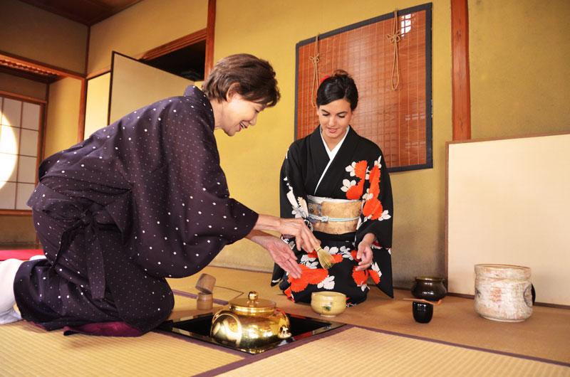 Ceremonia del té y yo