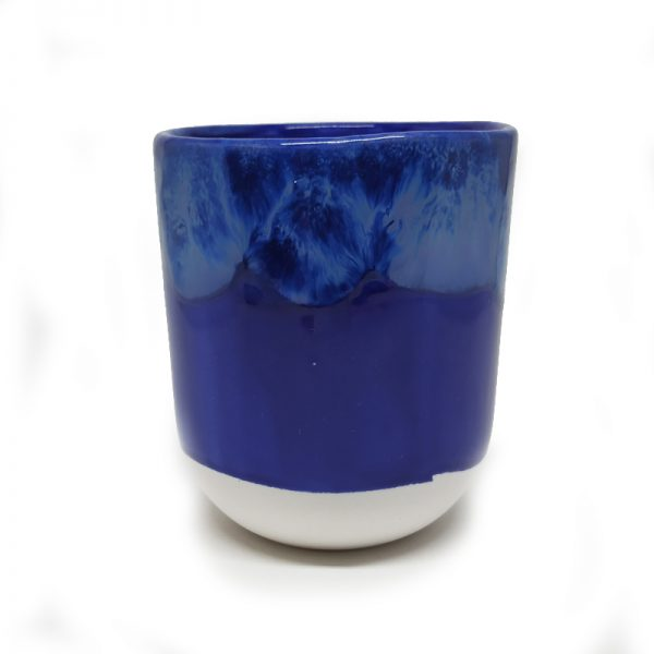 Taza color azul